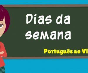 dias-semana-português