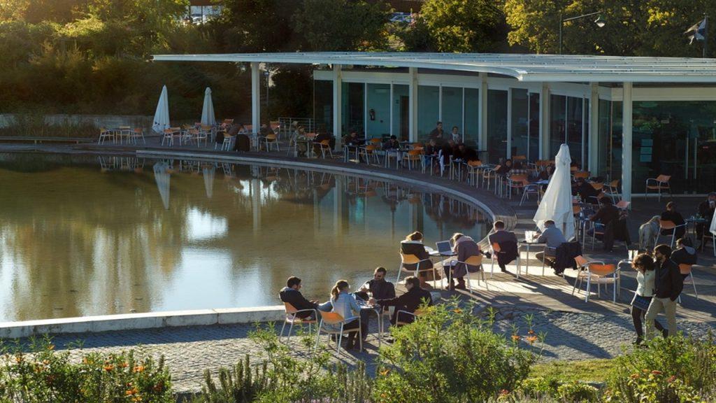 parque eduardo VII café