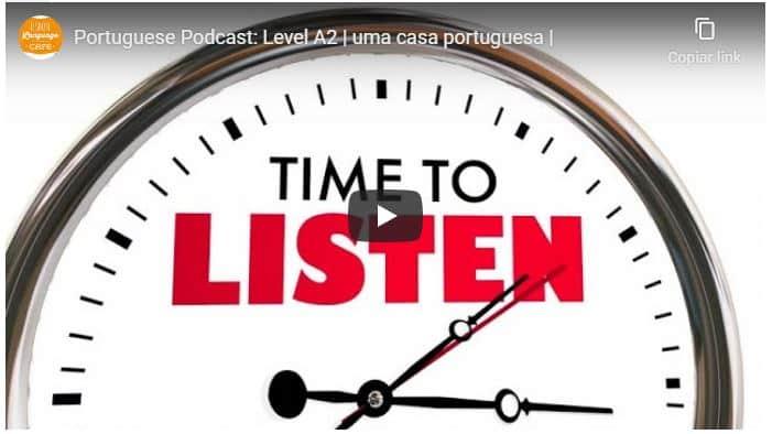 portuguese podcast level A2 lisbon language café