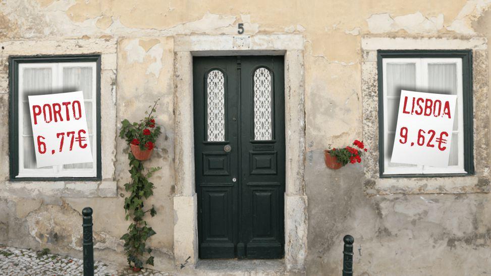 alugar casa em portugal preços